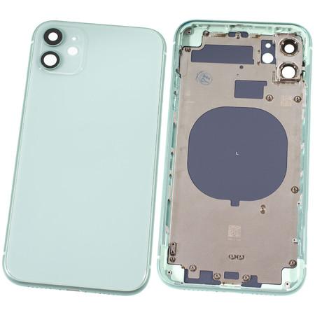 Задняя крышка + рамка для Apple iPhone 11 / зеленый корпус в сборе
