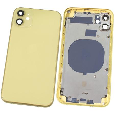 Задняя крышка + рамка для Apple iPhone 11 / желтый корпус в сборе