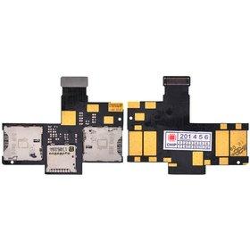 Шлейф / плата HTC Desire 400 dual sim / на SIM reader