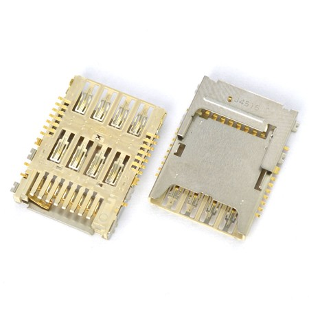 Разъем Micro-Sim+MicroSD для LG G3 Dual LTE D858