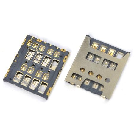 Разъем Micro-Sim TCL J738M