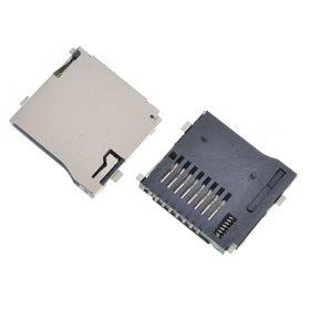 Разъем MicroSD 21-22mm x 14-15mm x 1,8mm KA-063