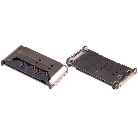 Разъем Mini-Sim Micromax X649