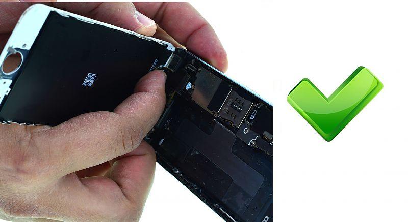 правильно ставить дисплей Iphone