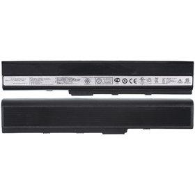 Аккумулятор / 10,8V / 4400mAh / 48Wh черный Asus K42Jc
