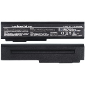 Аккумулятор / 11,1V / 4400mAh / 48Wh черный Asus G51VX