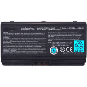 PA3615-1BRM Аккумулятор / 10,8V / 4000mAh / 44Wh / 6 Cell