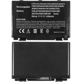 Аккумулятор / 10,8V / 4500mAh / 49Wh / 6 Cell черный ASUS X5MSM