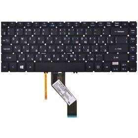 Клавиатура черная без рамки с подсветкой Acer Aspire V5-431PG
