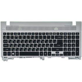 PK130IN1A00 Клавиатура черная (Топкейс серебристый)