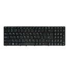 Клавиатура Asus K52 черная с черной рамкой