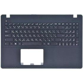 Клавиатура черная (Топкейс черный) ASUS R510LN