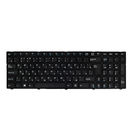 Клавиатура Pegatron C15 черная с черной рамкой