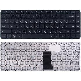 Клавиатура черная с черной рамкой HP Pavilion dm4t-1000