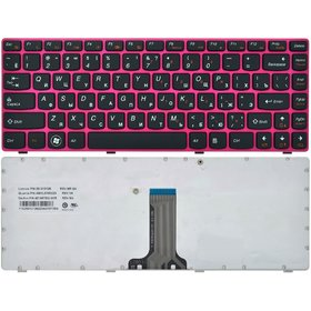 9Z.N5TSW.E01 Клавиатура черная с красной рамкой