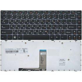 AEKL6700220 Клавиатура черная с серой рамкой