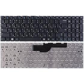 Клавиатура черная без рамки Samsung NP300E5C-A0D