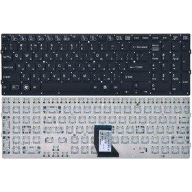 Клавиатура черная без рамки Sony VAIO VPCCB2M1E/W