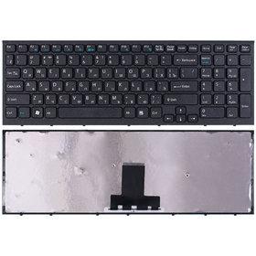 Клавиатура черная с черной рамкой Sony VAIO VPCEB3J0E/WI