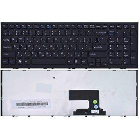 Клавиатура черная с черной рамкой Sony VAIO VPCEE3E0E/WI
