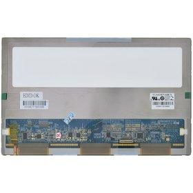 """Матрица для ноутбука 10.2"""" / LED / Slim (3mm) / 30 pin eDP справа внизу / 1024x600 / CLAA102NA1BCN"""