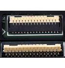 5509L FPC-1 Модуль (дисплей + тачскрин) черный (С отверстием под динамик)