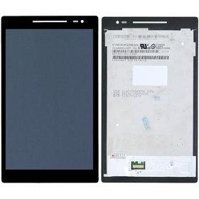 CLAA080WQ65 XG Модуль (дисплей + тачскрин) черный