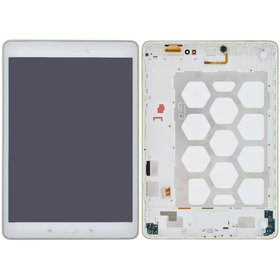 Модуль (дисплей + тачскрин) белый Samsung Galaxy Tab A 9.7 SM-T555 (LTE)