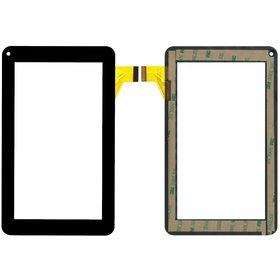 """ZJ-70012A0-FPC Тачскрин 7.0"""" 30 pin (111x186mm) черный (Без отверстия под динамик) (Проверен!)"""