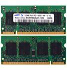Оперативная память для ноутбука / DDR2 / 512Mb / 4200S / 533 Mhz