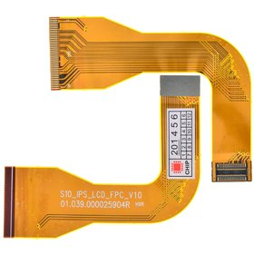 S10_IPS_LCD_V10 Шлейф матрицы планшета