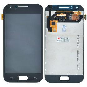 Модуль (дисплей + тачскрин) Samsung Galaxy J1 (SM-J100FN) черный
