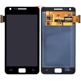Тачскрин с дисплеем черный Samsung GALAXY S II (GT-I9100)
