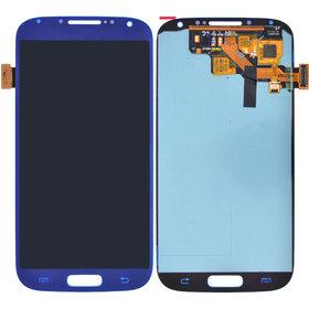 Дисплей Samsung Galaxy S4 GT-I9500 + тачскрин синий