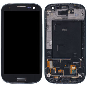 Тачскрин с дисплеем черный (оригинал) Samsung Galaxy S3 (GT-I9300I)