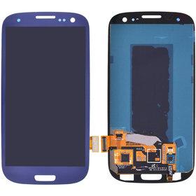 Модуль (дисплей + тачскрин) Samsung Galaxy S III (S3) GT-I9300 синий (оригинал)