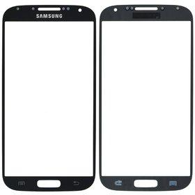 Стекло черный Samsung Galaxy S4 LTE+ GT-I9506