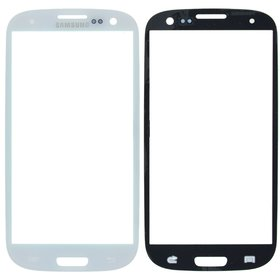Стекло Samsung Galaxy S III (S3) GT-I9300 белый