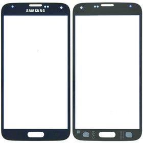 Стекло Samsung Galaxy S5 (SM-G900FD) голубой