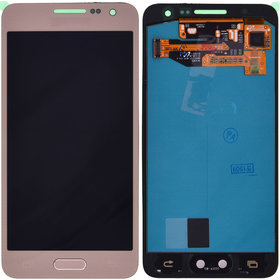 Дисплей Samsung Galaxy A3 (SM-A300F/DS) GH97-16747F + тачскрин золотой