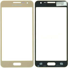 Стекло золотой Samsung Galaxy A3 SM-A300F Single Sim