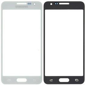 Стекло белый Samsung Galaxy A3 SM-A300H Single Sim