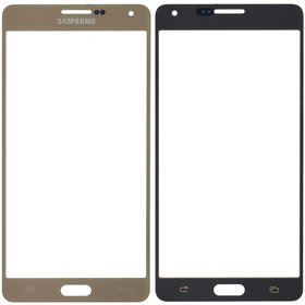 Стекло золотой Samsung Galaxy A7 SM-A700F Single Sim