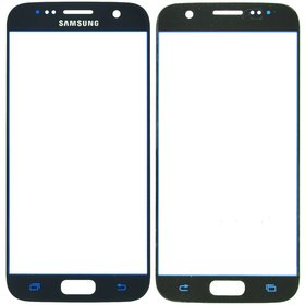 Стекло черный Samsung Galaxy S7 (SM-G930FD)
