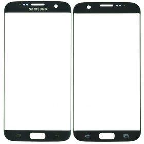 Стекло черный Samsung Galaxy S7 edge (SM-G935FD)