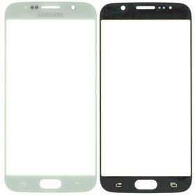 Стекло белый Samsung Galaxy S6 SM-G920