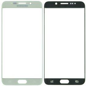 Стекло белый Samsung Galaxy S6 edge+ SM-G928F