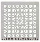 Трафарет для пайки BGA чипов SB700/RD780 / 0.5mm