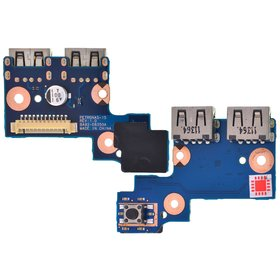 Плата USB Samsung NP300E5A-A03