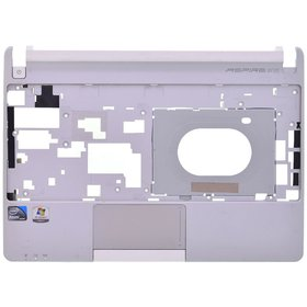 Верхняя часть корпуса ноутбука серый Acer Aspire one D270 (ZE7)